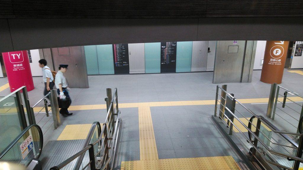 東横渋谷エスカレーター