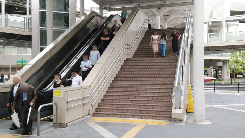 京急蒲田駅ペデストリアンデッキ