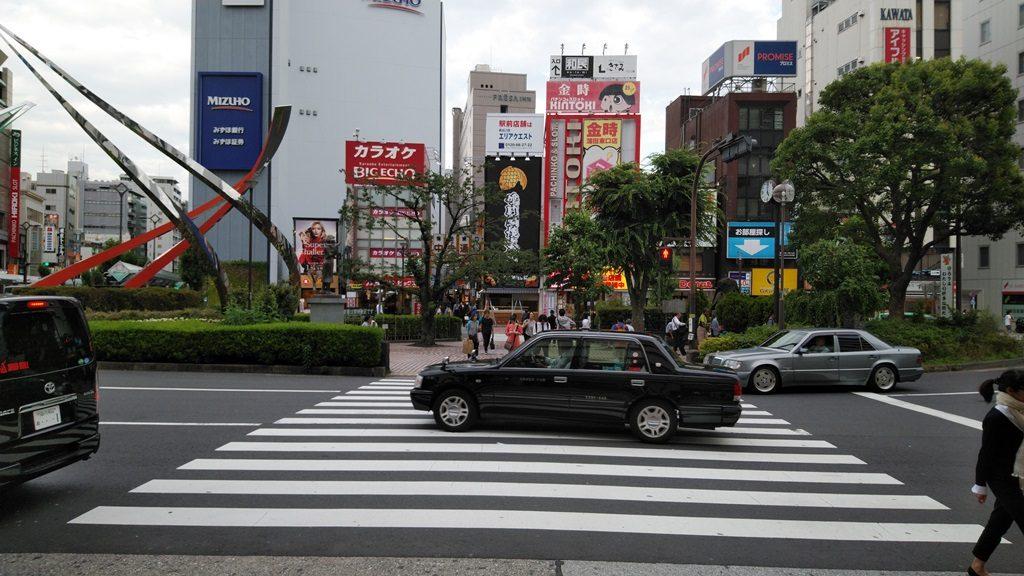 蒲田駅東口ロータリー
