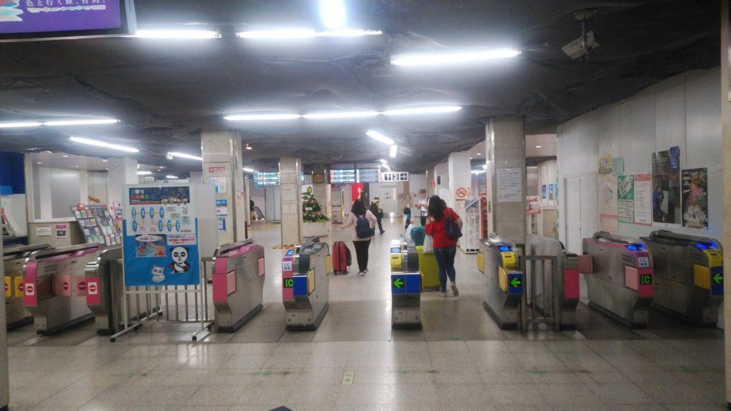 京成上野駅改札
