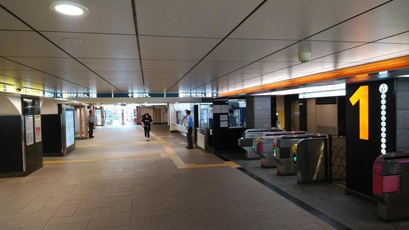 新京成から日比谷線4