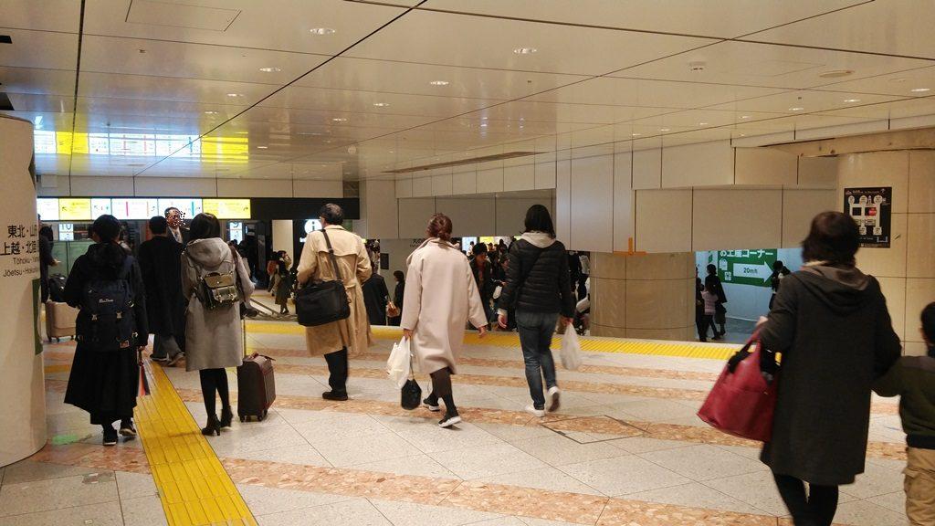 東北新幹線北乗換口2
