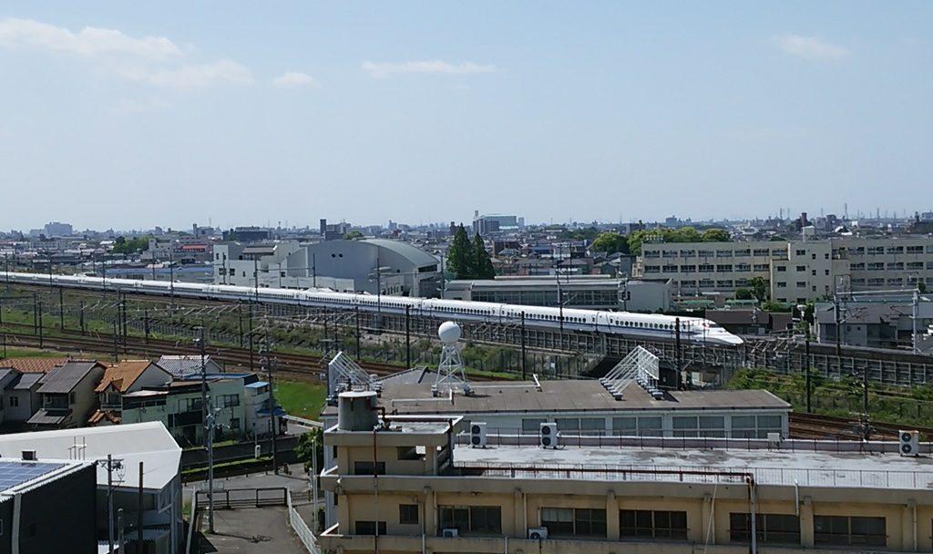 清洲城から新幹線3