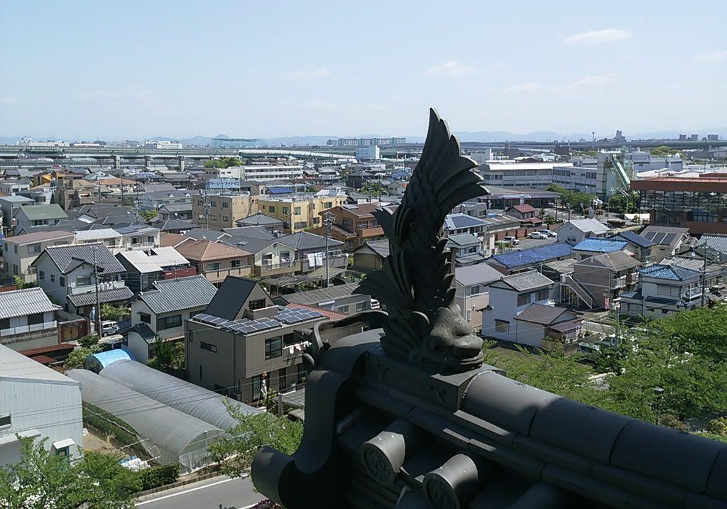 清洲城しゃちほこ