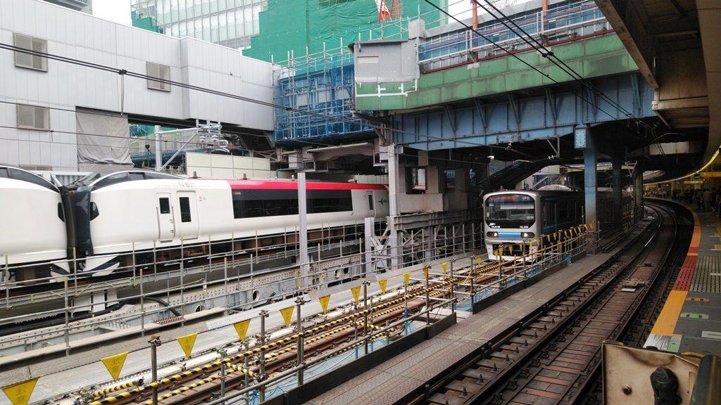 渋谷駅埼京線工事1