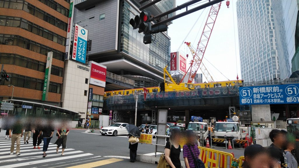 渋谷駅銀座線工事