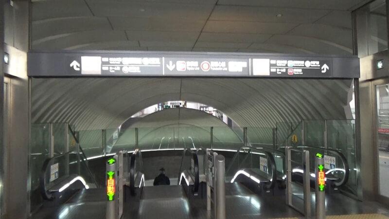 銀座線から東横線11