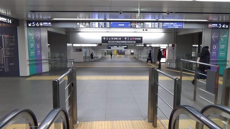 銀座線から東横線12