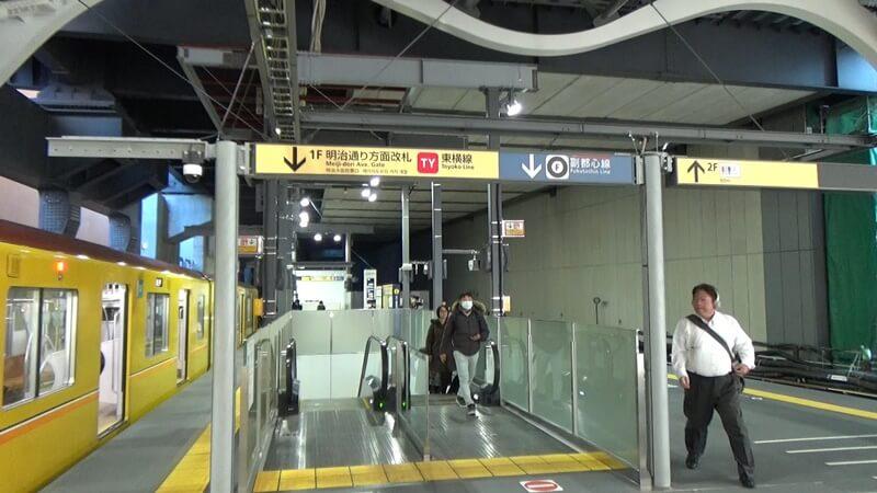 銀座線から東横線3