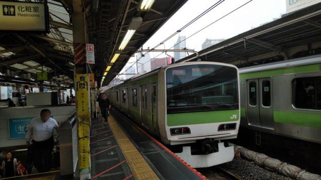 JR新宿駅ホーム