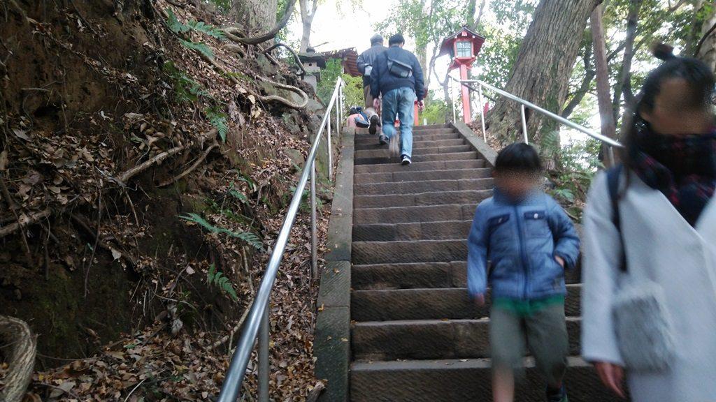 不動尊へ階段