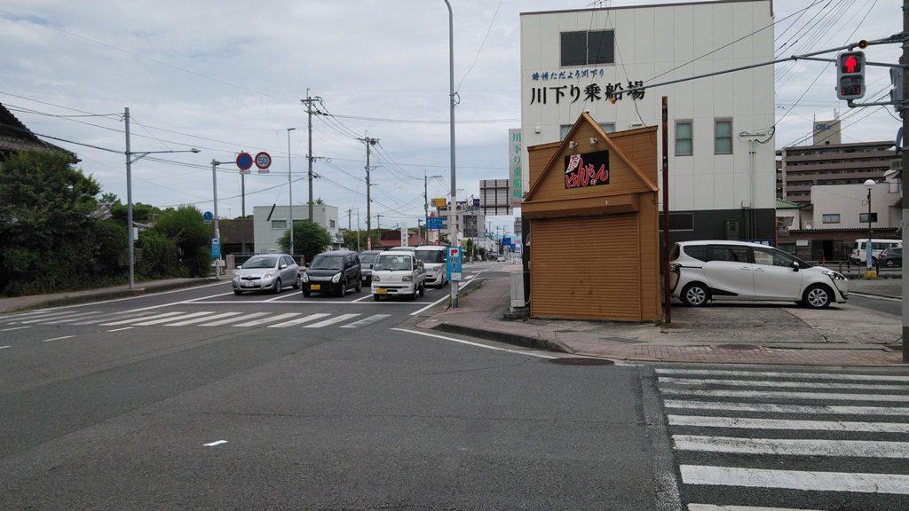 水郷柳川観光入口