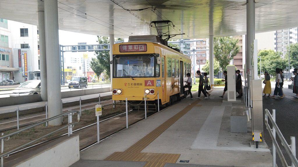 熊本駅前電停