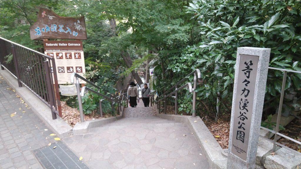 等々力渓谷入口4
