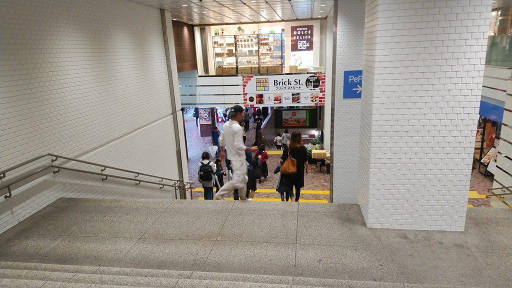 西武新宿から新宿2