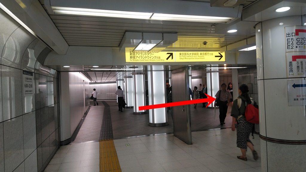 西新宿から都庁2
