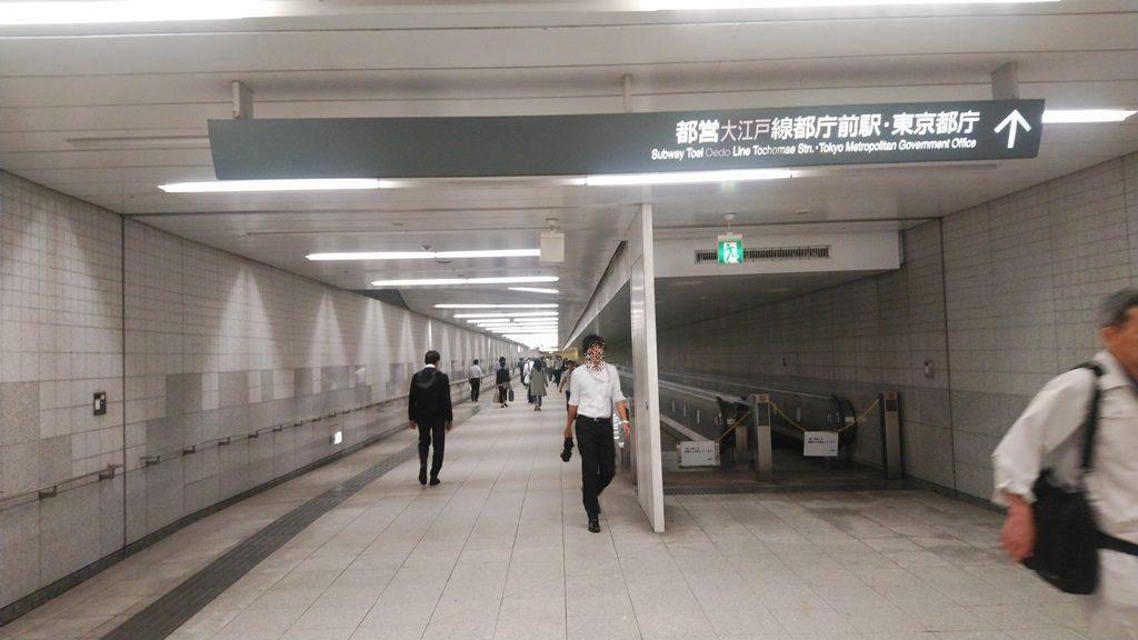 西新宿から都庁4