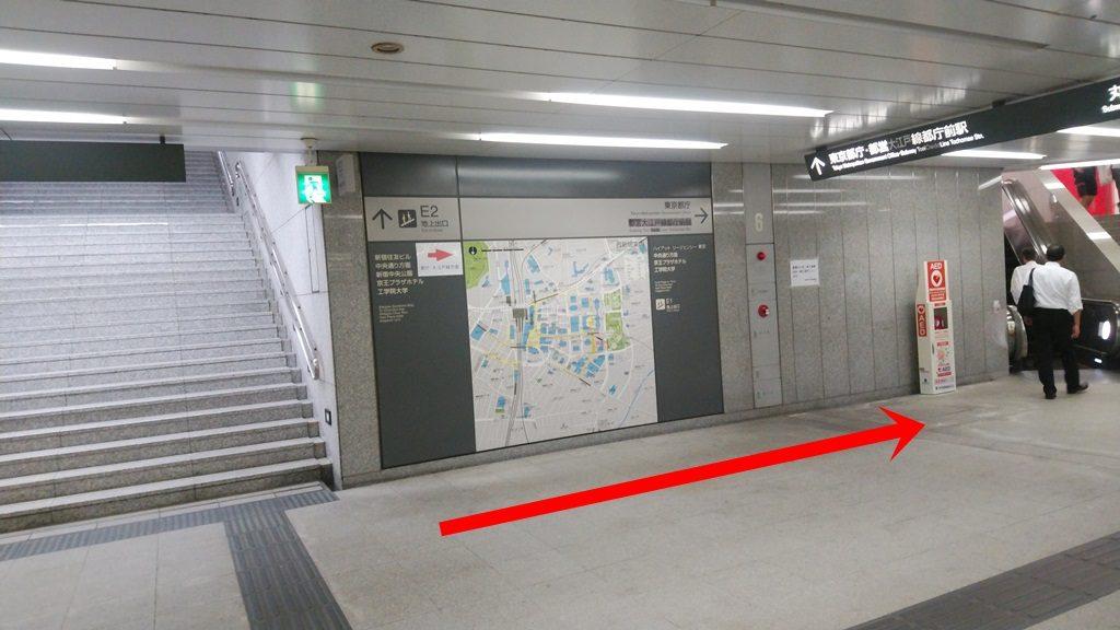 西新宿から都庁6
