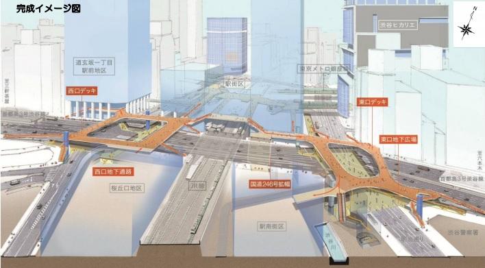 歩道橋完成イメージ