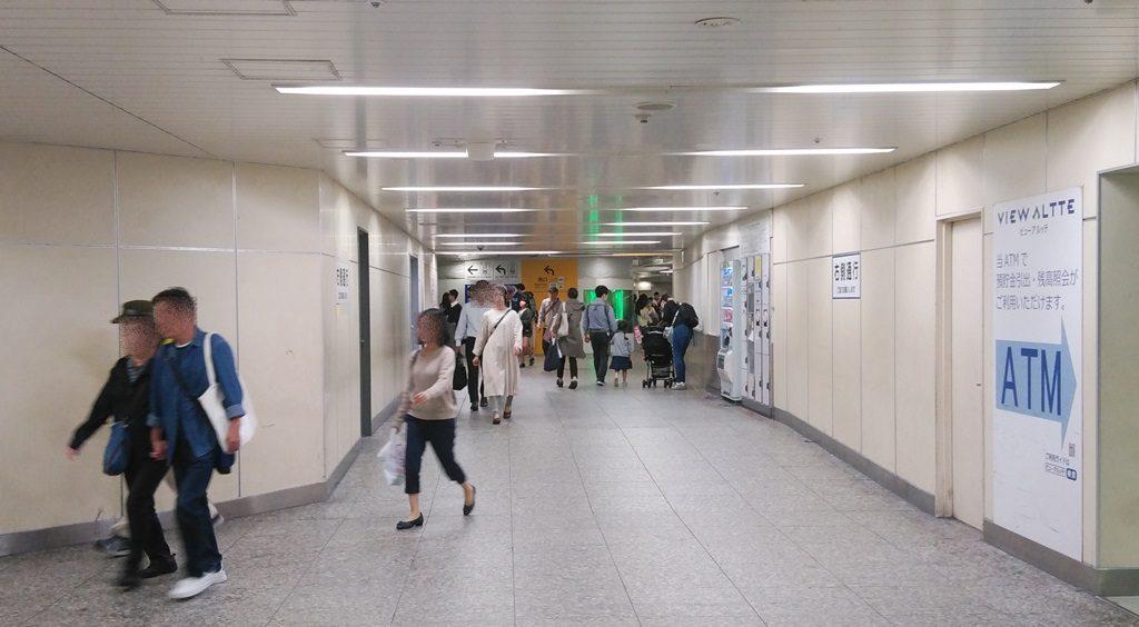 相鉄2階から中央通路2