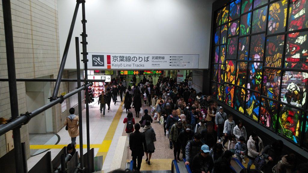 京葉線へ2