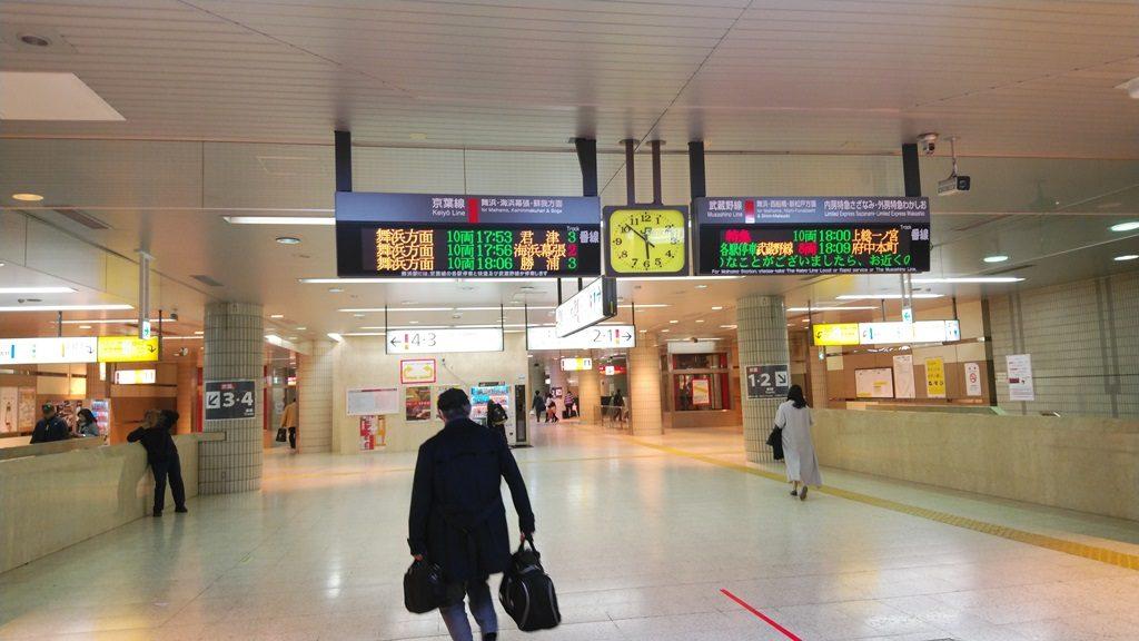 京葉線へ5