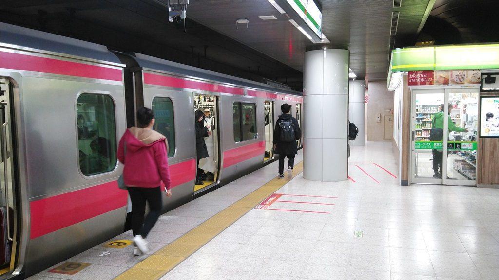 京葉線ホーム