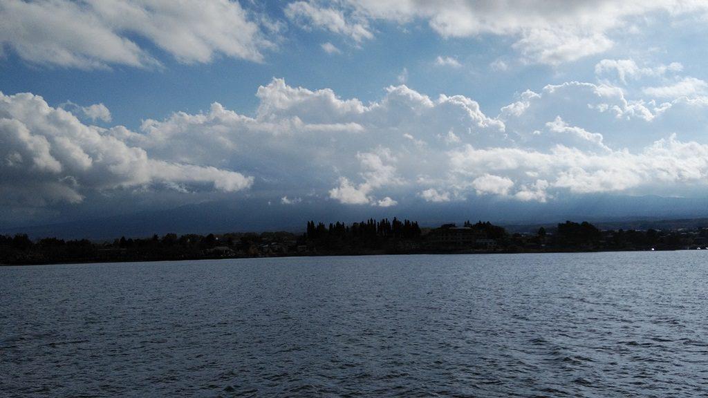 富士山が見えるはず・・・