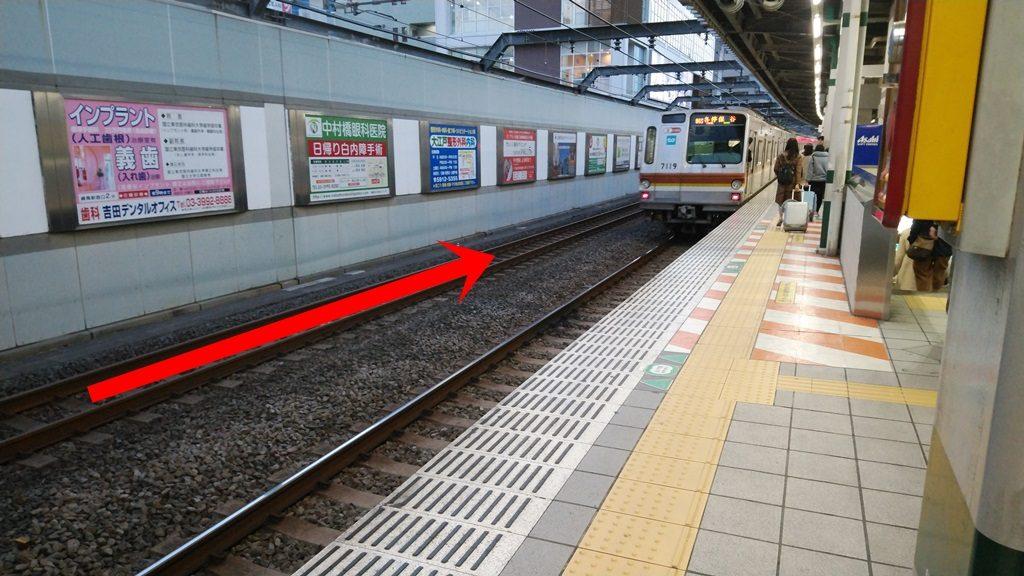 練馬駅通過線