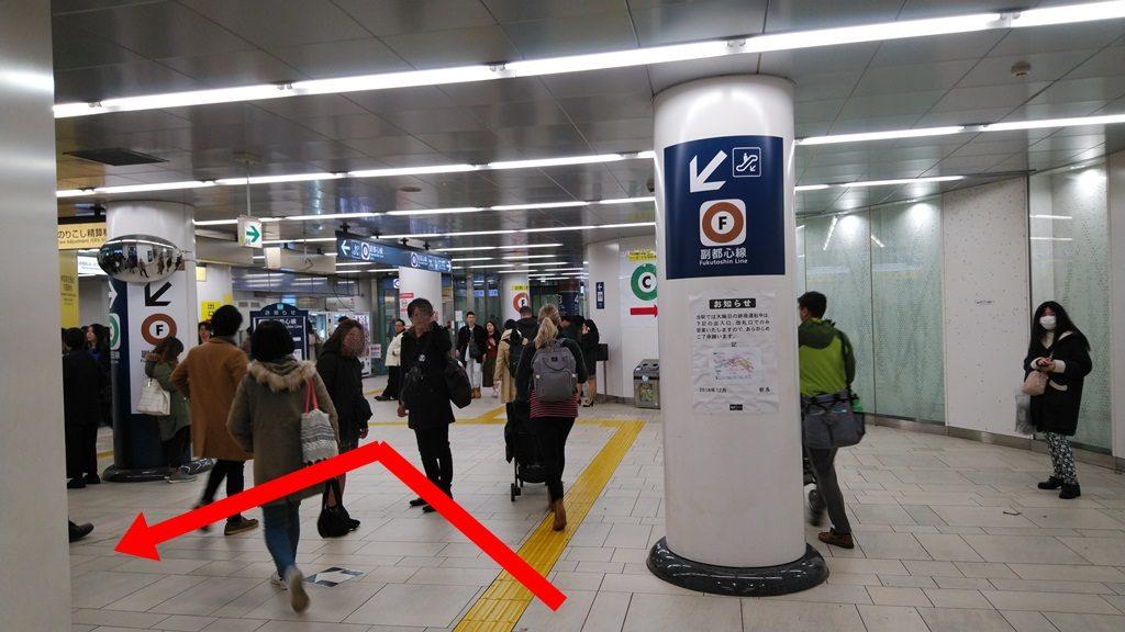 千代田線から副都心線3