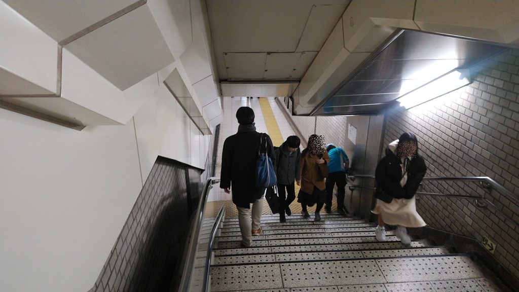 千代田線から有楽町線3