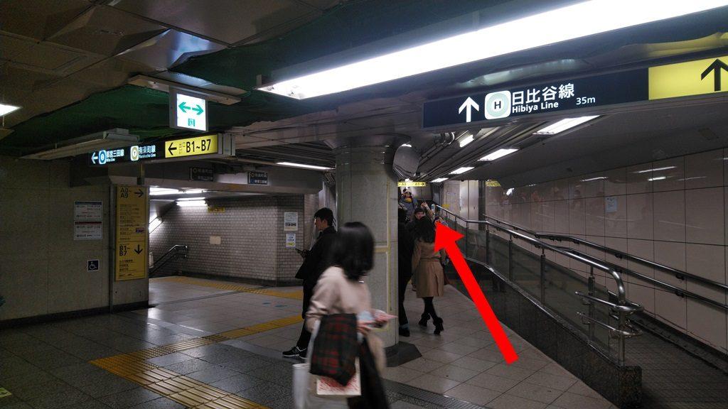 千代田線からJR2