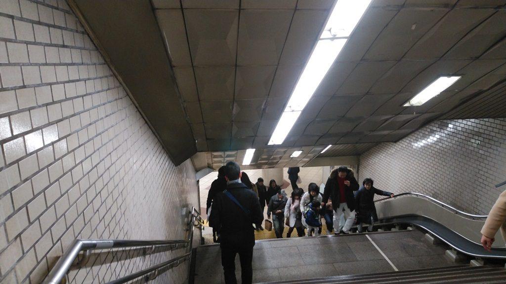 千代田線からJR3