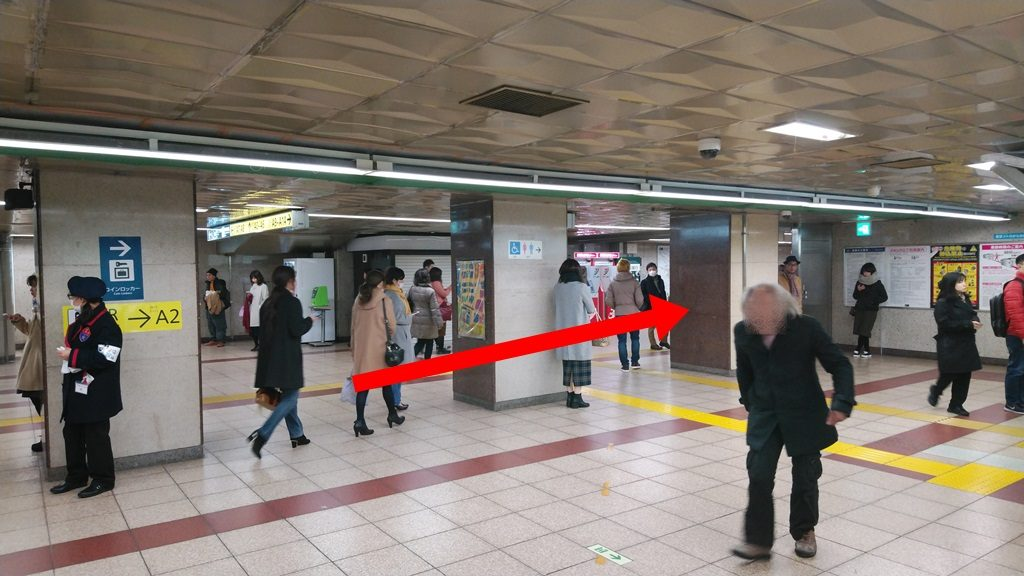 千代田線からJR4