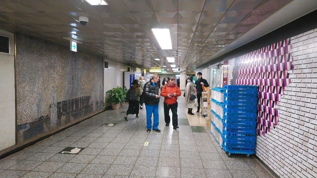 千代田線からJR