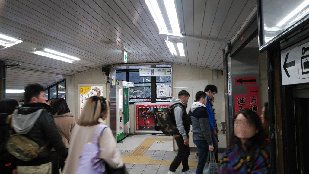 原宿駅構内2
