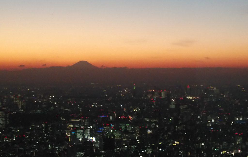 富士山シルエット