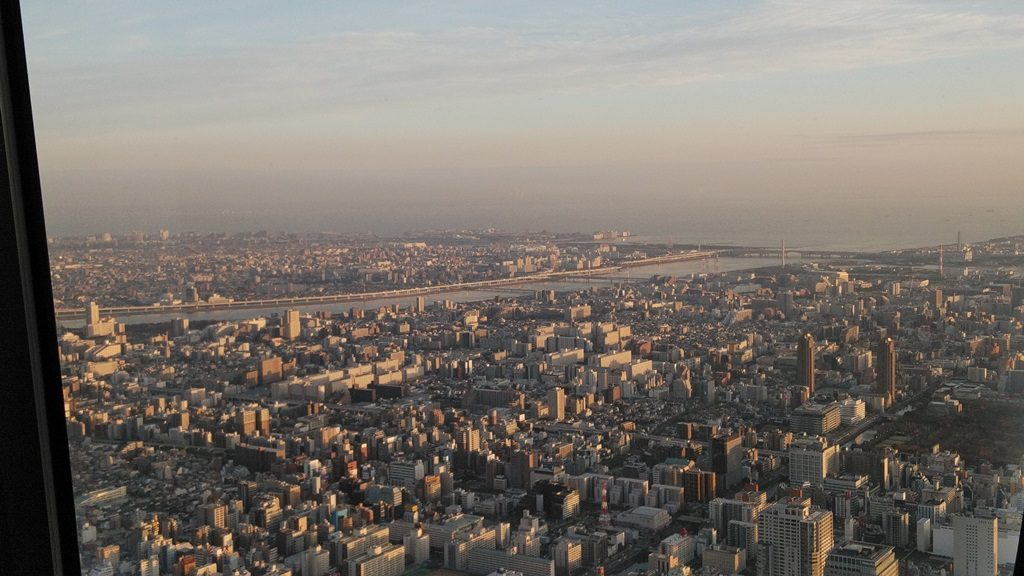 展望回廊から東京湾2