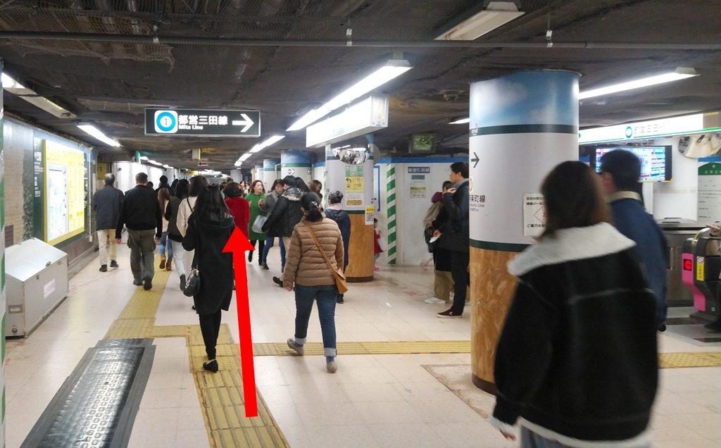 有楽町線から千代田線3