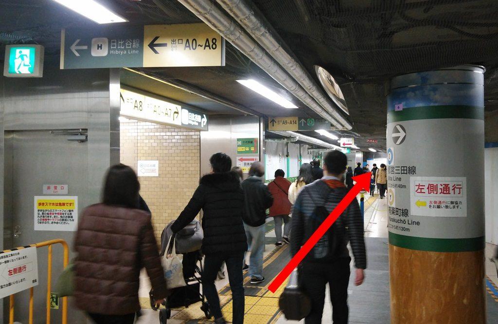 有楽町線から千代田線4