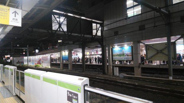 高田馬場駅ホーム