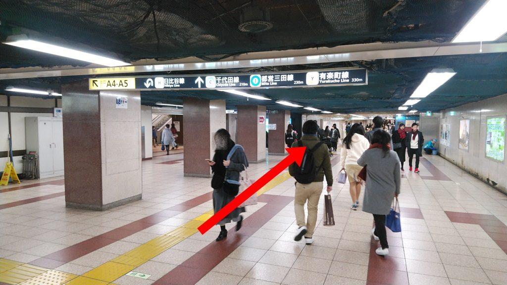 JRから千代田線
