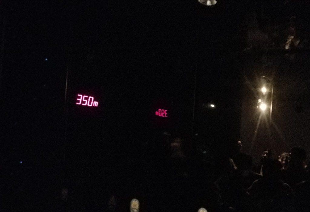350メートル標示