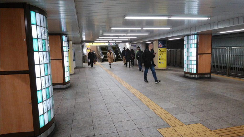 千代田線から丸ノ内線