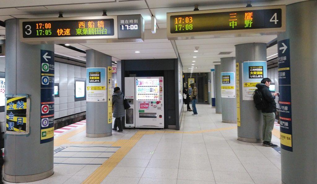 千代田線から東西線7