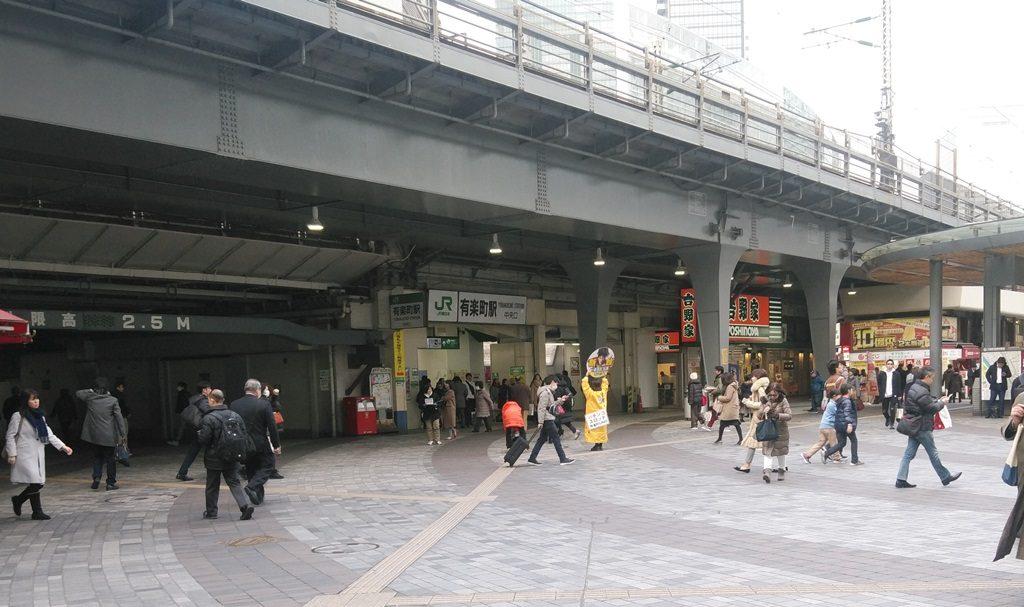 地下鉄からJR地上12