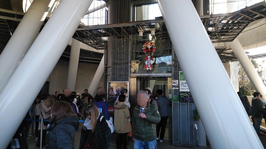展望灯台エレベーター