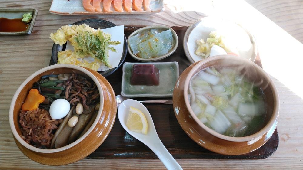 山菜釜めしセット