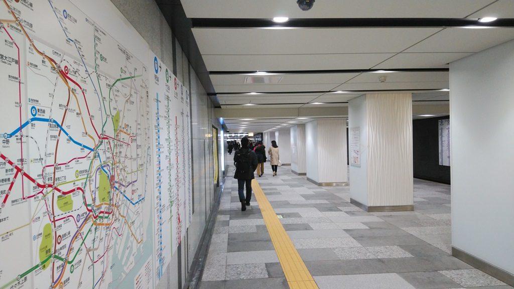 日本橋口から東西線11