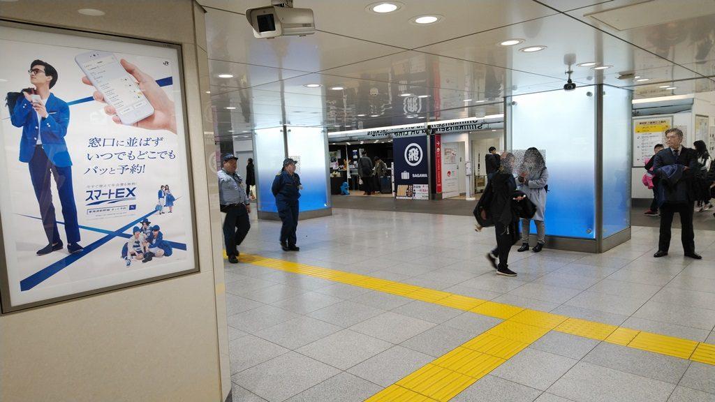 日本橋口から東西線1